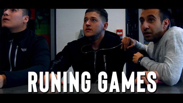 Running Games court-métrage Idriz la base